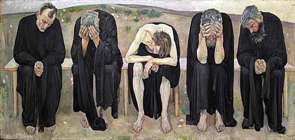 Signification Reves abattu Ferdinand Hodler
