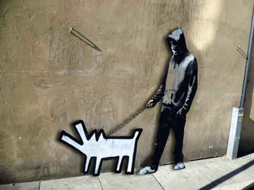 Signification Reves aboiement-Banksy