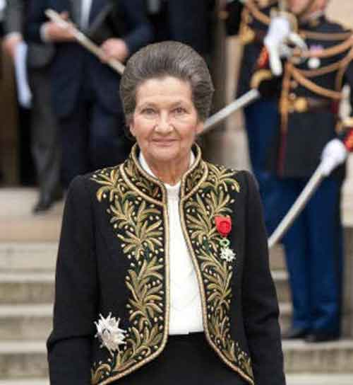 Signification Reves academicienne simone Veil