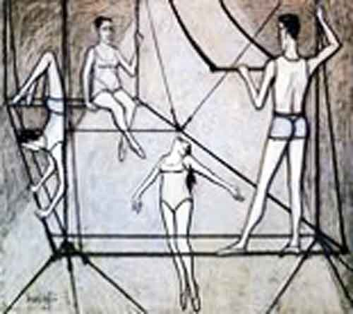 Signification Reves acrobate Bernard buffet