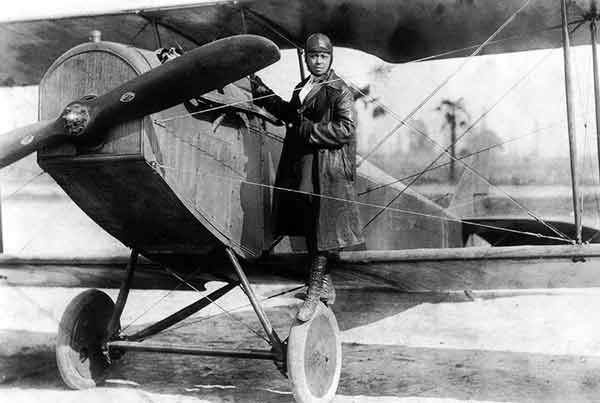 Signification Reves avion Bessie Coleman