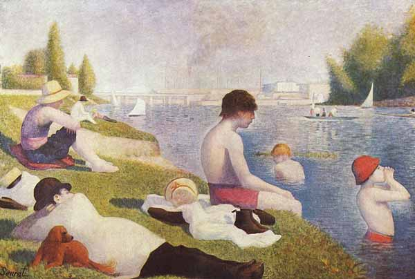 Signification Reves baignade Georges Seurat