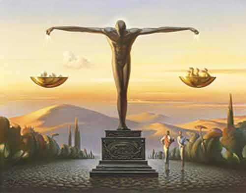 Signification Reves balance-vladimir-kush
