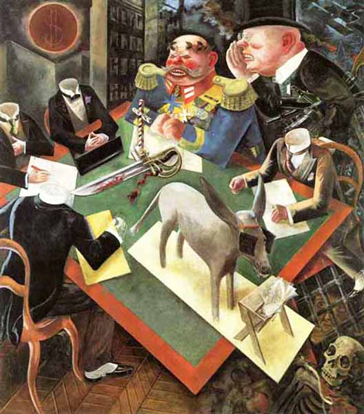 Signification Reves betise george grosz
