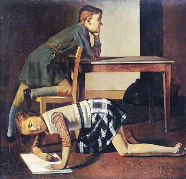 Signification Reves bureau balthus