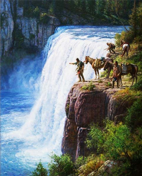 Signification Reve cascade martin grelle