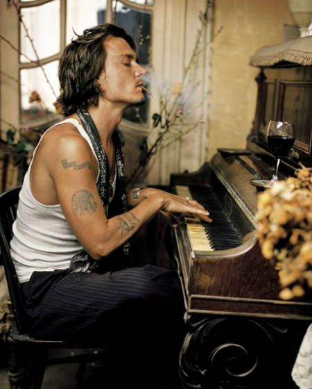 celebrite star idole johnny Depp