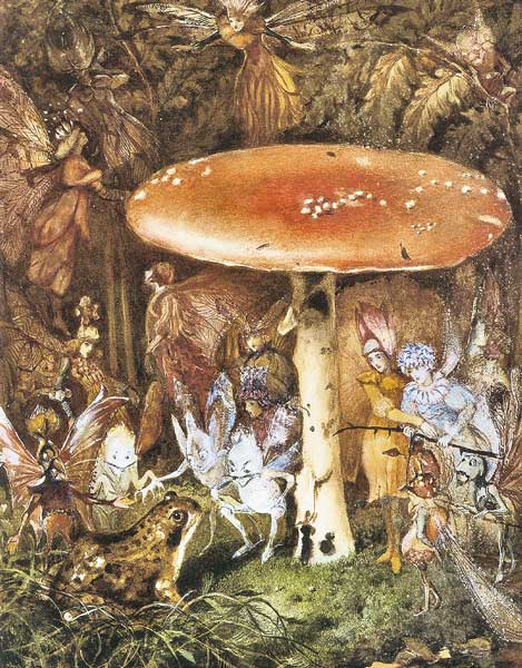Signification Reve champignon john anster fitzgerald