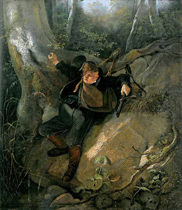 Signification Reve chasse Carl Spitzweg