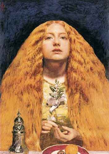 cheveux Sir-John-Everett-Millais-1829-1896