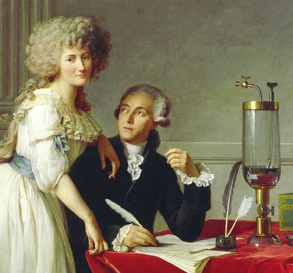 chimiste couple Lavoisier