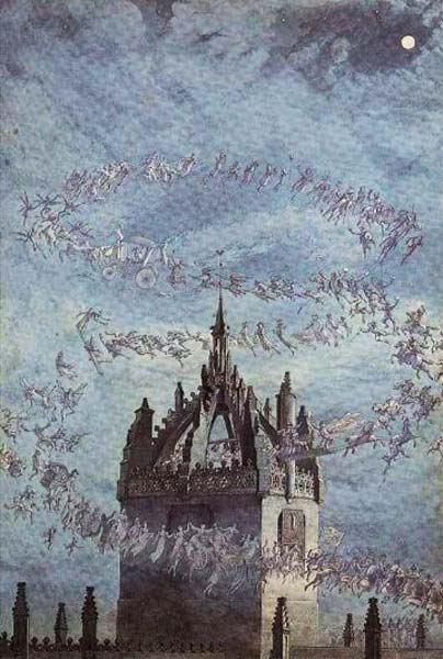 Signification Reve clocher Charles Altamont Doyle