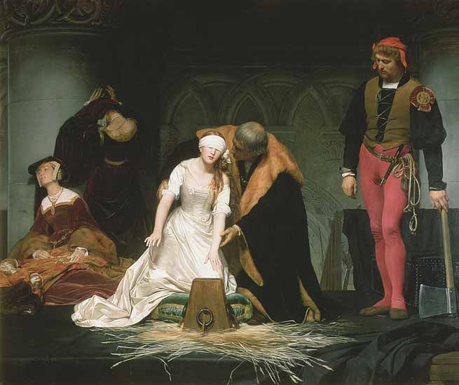 Signification Reves decapitation jane grey