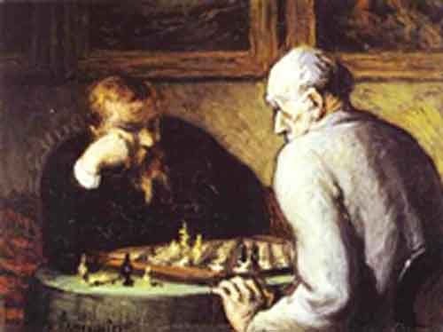 Signification Reves echecs-Daumier