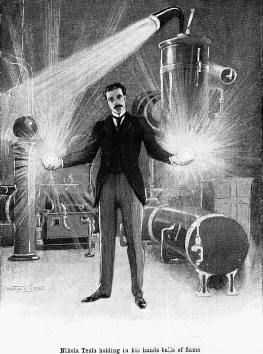 Signification Reves electricien tesla