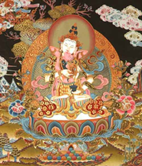 Signification Reves erotisme exoticindiaart-com product paintings vajrasattva-in-yab-yum-TN41