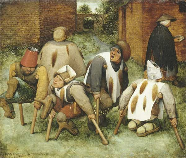Signification Reves estropie bruegel