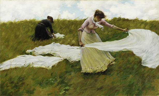 Signification Reves etaler Charles Courtney Curran