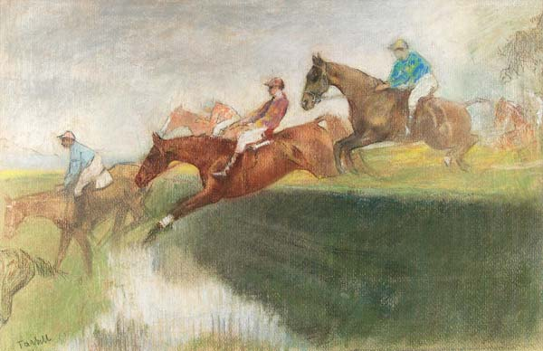 Significations Reves galop Edmund Charles Tarbell