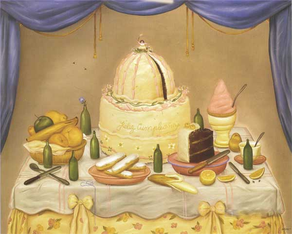 Signification Reves gourmandise Botero