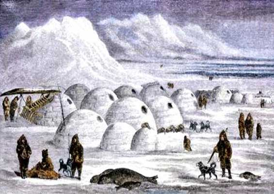 igloo village inuit
