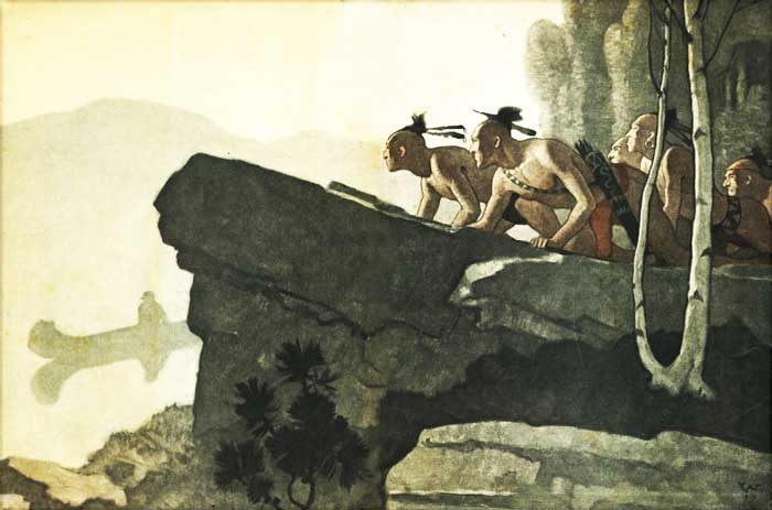 indien Deerslayer Wyeth