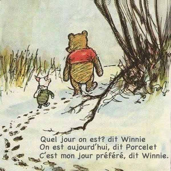 Signification Reve jour winnie