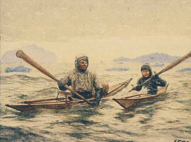 Signification Reve kayak inuit