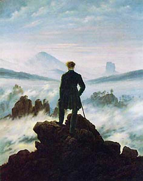 Signification Reves lointain Caspar David Friedrich