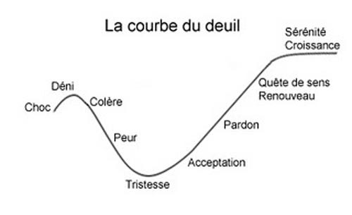 Signification Reves courbe du deuil