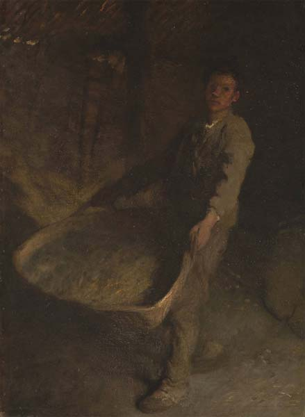 Signification Reves marron George Clausen