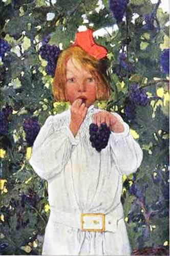 raisin grappe-Stilwell-Sarah-S.-Weber-1878-1939