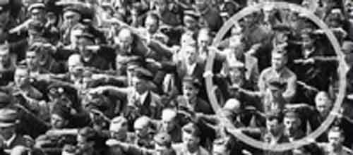 Signification Reve nazi-August-Landmesser-refus-du-salut