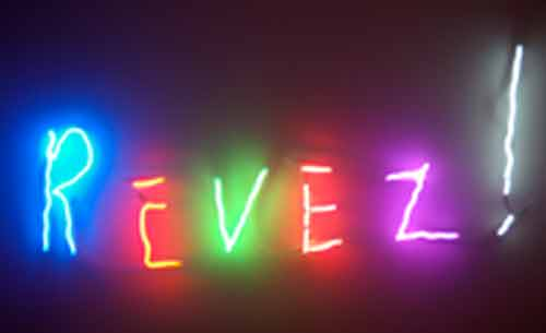 Signification Reve neon
