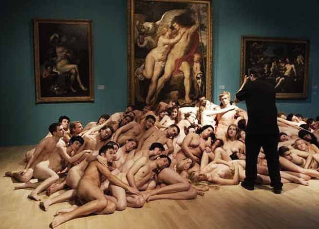 Signification Reves nudite Spencer Tunick