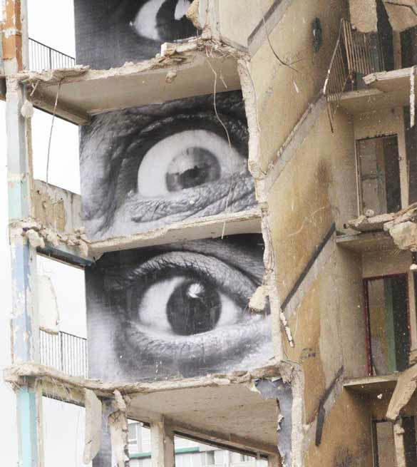 Signification Reves oeil street art