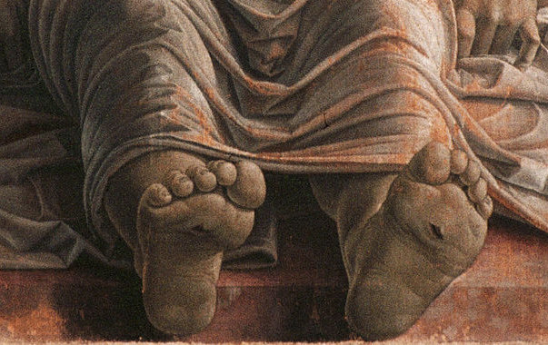 Signification Reves orteil mantegna