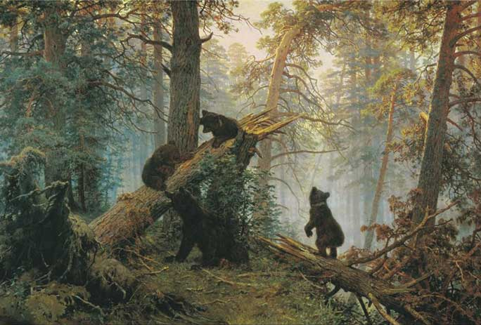 Signification Reves ours Shishkin