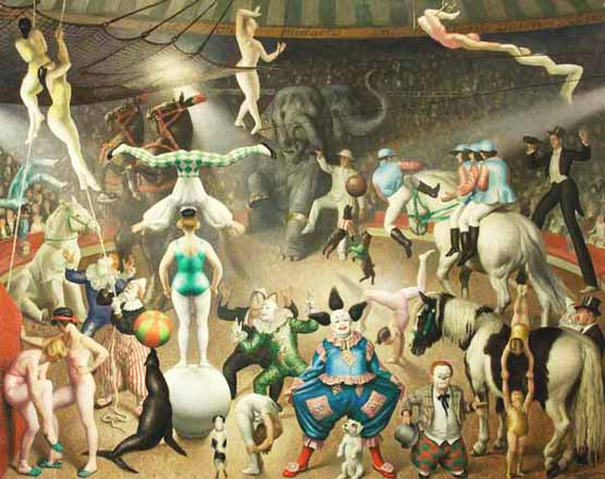 Signification Reves parade Laura Knight