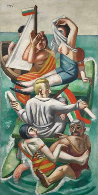 Signification Reves pedalo Max Beckmann