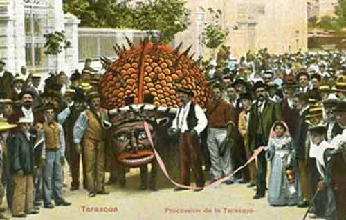 Signification Reves procession-tarasque