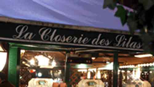 Signification Reve restaurant closerie des lilas