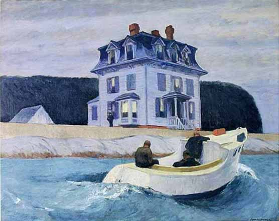 Signification Reve rive Edward Hopper