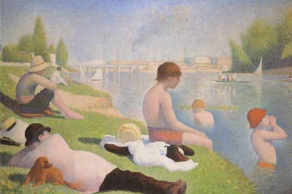 Signification Reve rive georges Seurat