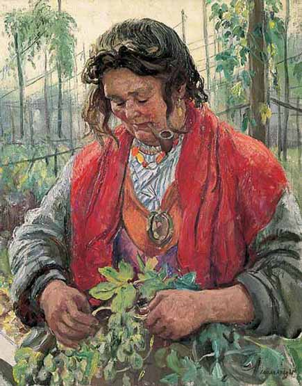 tabac Laura Knight