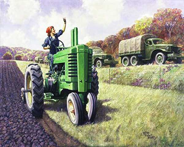 Signification Reves tracteur Walter Haskell Hinton