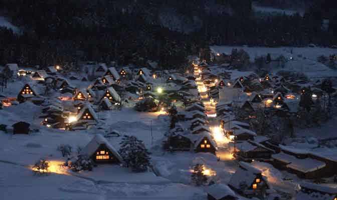 village-Shirakawa-Go-Japon